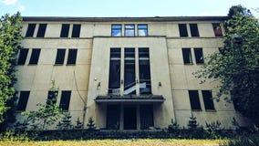 Abandoned Big Building royalty free stock image