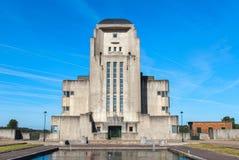Abandoned radio Kootwijk building. Royalty Free Stock Image
