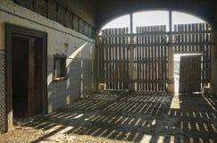 Abandoned rail station Stock Photography