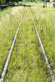 Abandoned rail tracks Stock Image