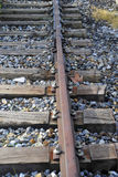 Abandoned railroad detail Stock Photography