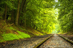 Railroad Background Stock Photography