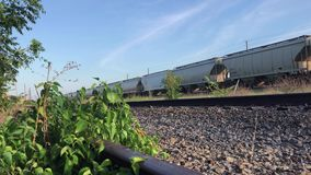Abandoned Railroad stock video footage