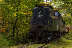 Abandoned Railroad - New York Stock Photo