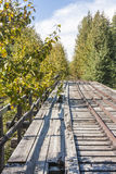 Abandoned Railroad Trestle Royalty Free Stock Photo