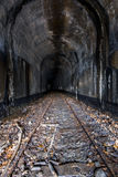 Abandoned Railroad Tunnel - Ohio stock image