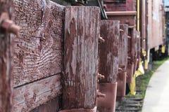 Abandoned rails Stock Photo