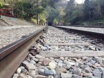 Abandoned Rails Royalty Free Stock Photo