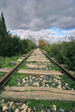 Abandoned railway line Stock Image