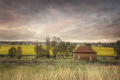 Abandoned Railway Shed Cowra Stock Photography
