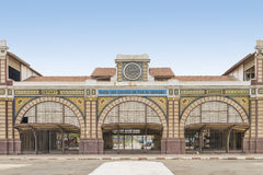 Abandoned railway station of Dakar, Senegal, colonial building Royalty Free Stock Images