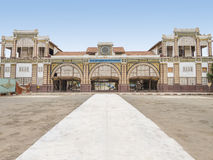 Abandoned railway station of Dakar, Senegal, colonial building Stock Photography