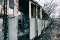 abandoned railway wagon Royalty Free Stock Photography