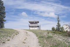 Abandoned Ranger Station Royalty Free Stock Photography