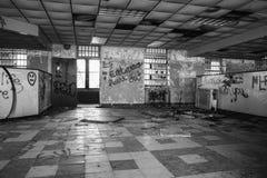 Abandoned Recreation Center Royalty Free Stock Photos