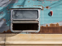 Abandoned recreational vehicle Stock Photos