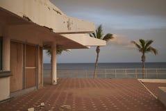 Abandoned resort in Puerto del Carmen. Lanzarote, Spain - August 21, 2015 : Abandoned resort in Puerto del Carmen in Lanzarote Stock Photography