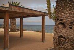 Abandoned resort in Puerto del Carmen. Lanzarote, Spain - August 21, 2015 : Abandoned resort in Puerto del Carmen in Lanzarote Stock Photo