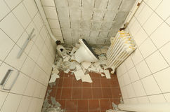 Abandoned restroom Royalty Free Stock Image