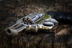 Abandoned revolver Royalty Free Stock Image