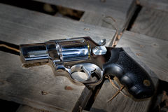 Abandoned revolver Stock Photography