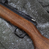 Abandoned Rifle Stock Image