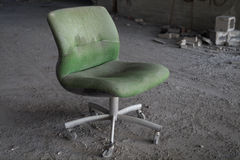 Abandoned-room-chair Royalty Free Stock Photos