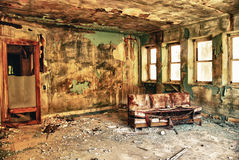 Abandoned room in the factory Royalty Free Stock Photography