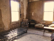 Abandoned Room of the Ghost town Bodie Royalty Free Stock Image
