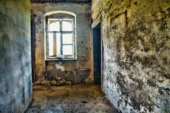 Abandoned room in HDR Royalty Free Stock Photos