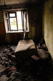 Abandoned room interior. Yakutia, Russia Stock Image