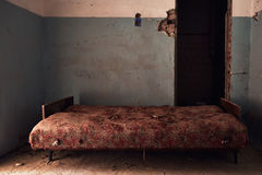 Abandoned room Stock Photography