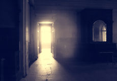 Abandoned room in old house Royalty Free Stock Images