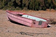 Abandoned rowboat Royalty Free Stock Images
