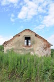 Abandoned ruin house Royalty Free Stock Photo