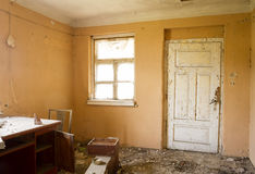 Abandoned ruin house Royalty Free Stock Photos