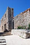 Abandoned ruined building in Susak,Croatia Stock Photography
