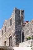 Abandoned ruined building in Susak,Croatia Stock Image