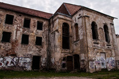 Abandoned and Ruined Buildings Stock Images