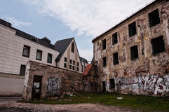 Abandoned and Ruined Buildings Royalty Free Stock Photo