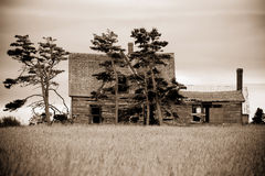 Abandoned, Run Down House Stock Photo