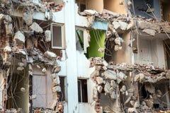 Abandoned Rundown Building Construction Area Royalty Free Stock Image