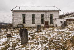 Abandoned Rural Church - Southwest Pennsylvania Royalty Free Stock Photo
