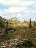 Abandoned Rural Farmhouse in Ronda Malaga Royalty Free Stock Images