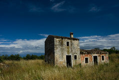 Abandoned rural home Royalty Free Stock Images