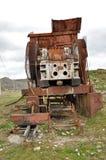 Abandoned rusty machinery Royalty Free Stock Image
