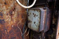 Rusty box Royalty Free Stock Photography
