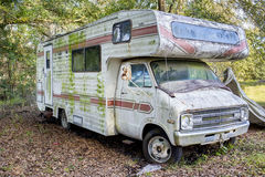 Abandoned RV Royalty Free Stock Photography
