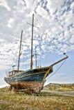Abandoned sail boat Royalty Free Stock Photography