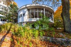 Abandoned sanatorium - Orlowo Gdynia, Poland Royalty Free Stock Images